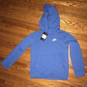 Boys Nike hooded sweatshirt